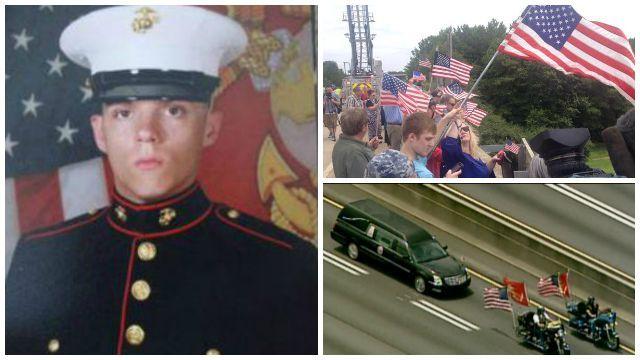 Fallen Marine returns home to metro Atlanta - Atlanta News, Weather, Traffic, and Sports | FOX 5