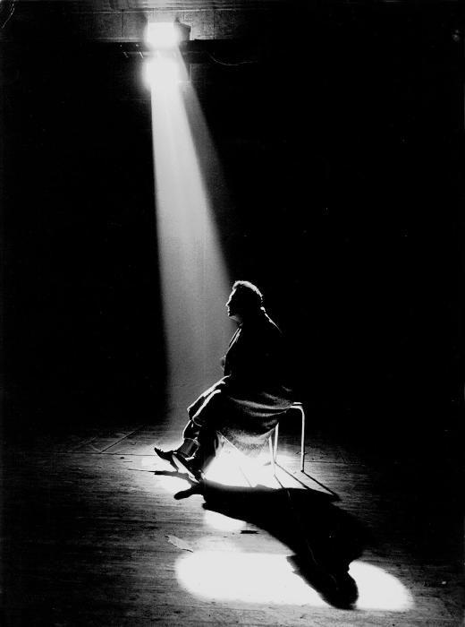 Federico Fellini, Roma, 1960 by Tazio Secchiaroli