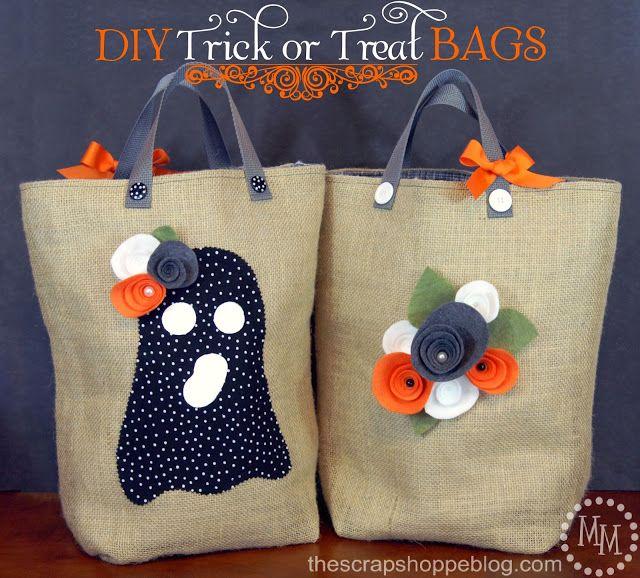 213 best Halloween images on Pinterest Fall halloween, Halloween - decorate halloween bags