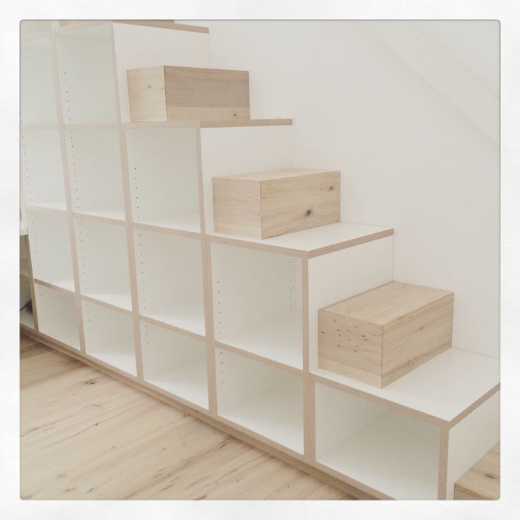 Regaltreppe Stairs with function Mehr