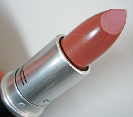 Mac Cremesheen Lipstick in Modesty best deeper neutral for everyday...get so many compliments when I wear this.