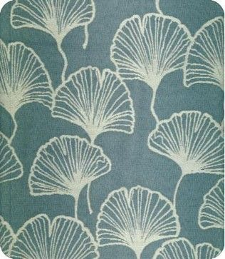 Fluttering Fans Fabric - contemporary - upholstery fabric - Lewis & Sheron Fabrics