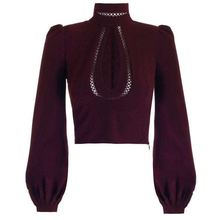 em cor marsala zimmermannwear.com - ELLE.com