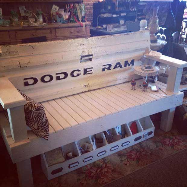 Dodge Truck Tailgate Bench