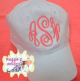 """How to Monogram a Baseball Cap: Embroidery Machine """"Workaround"""" 