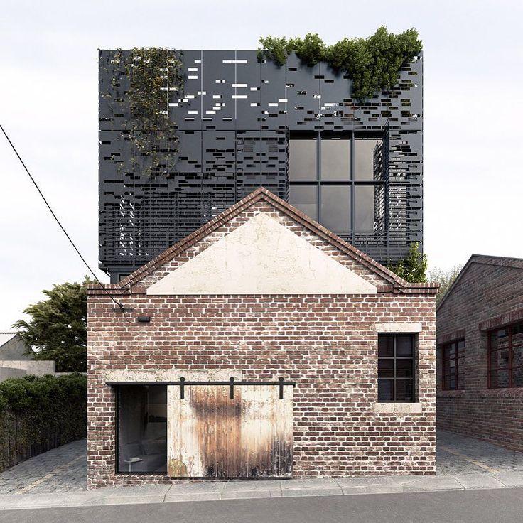 поdko_architecture #next_top_architects Сельский отвечает современным в этой Ватерлоо-стрит, Карлтон дома #dkoarchitecture