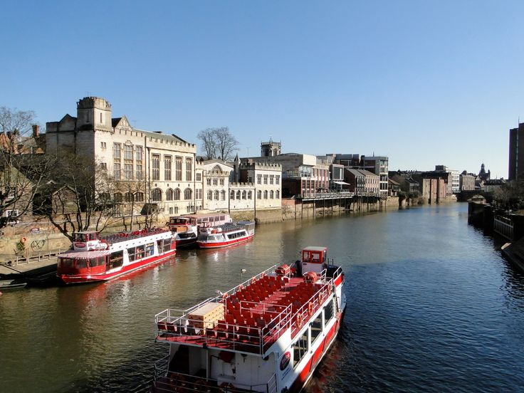 River Ouse York from Ouse Bridge