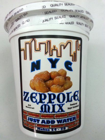 Everything you need to make zeppoles.