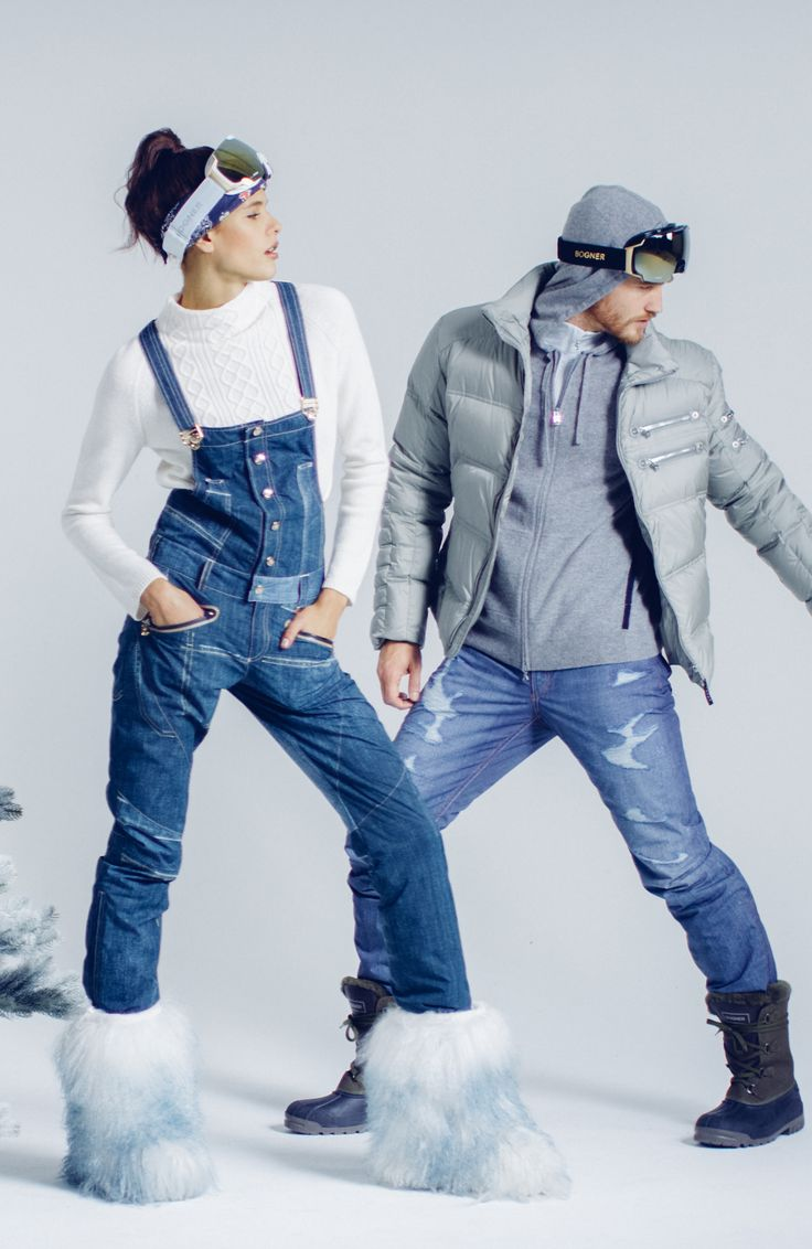 Give your loved one the gift of slope-swag with Bogner's dashingly cool ski denim.
