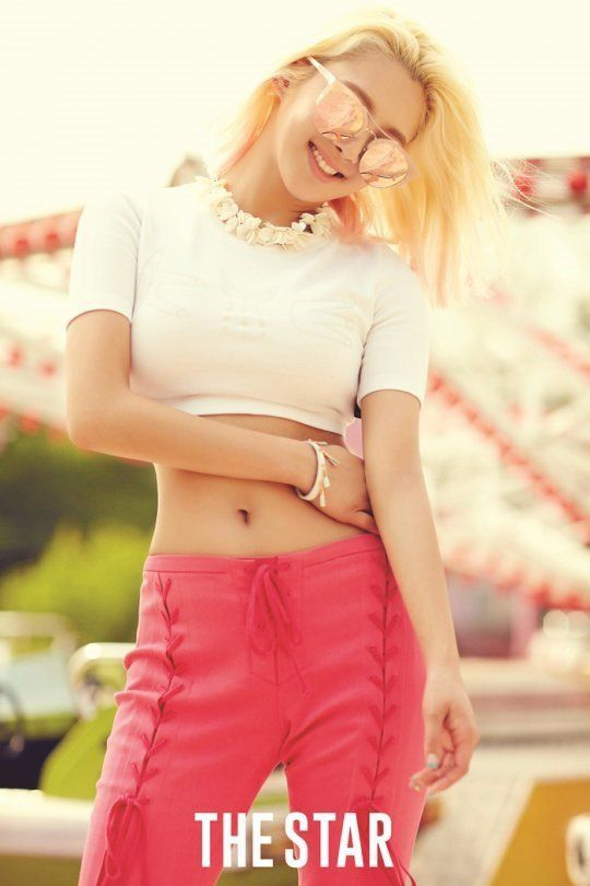 "Hyoyeon Lets Slip a Few Personal Beauty Tips During Interview with ""The Star"" 