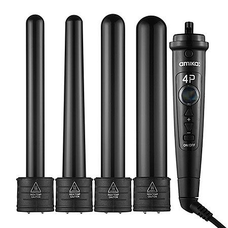 """""""Curling wands are so much faster than curling irons, and this one comes with four barrel sizes in one!"""" I need this"""