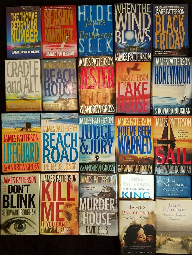 James Patterson Lot of 22 Hardcovers Thrillers Romance Non Fiction Murder House