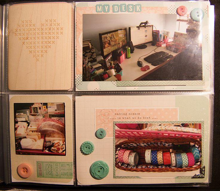 "Month of Me Prompt 5 ""My Desk/Craft Area"" #createmess"