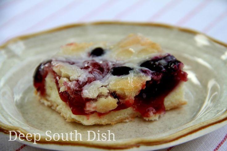 Cherry Pie Bars | Cherries, Deep south dish and Cherry pie ...