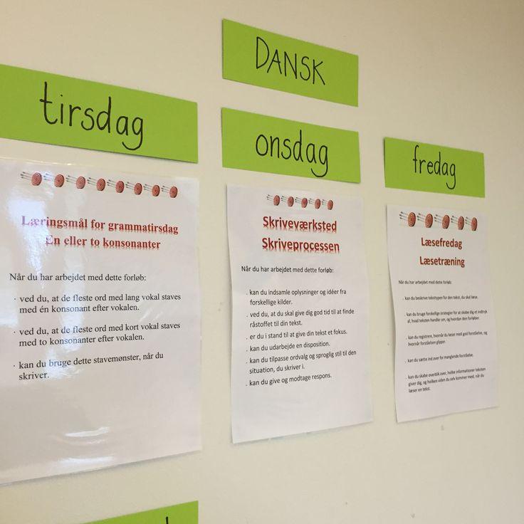 Læringsmål og succeskriterier samt en klar struktur for de enkelte time. Lad os se hvad det gør?