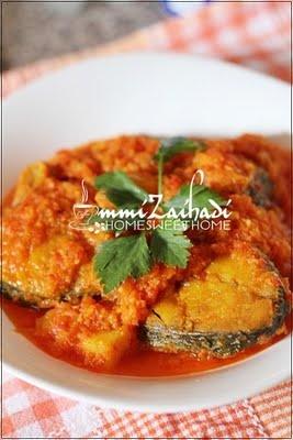 Ikan sambal tomato nenas