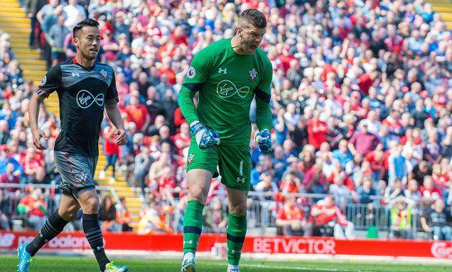 Liverpool news: Fraser Forster saves James Milner penalty