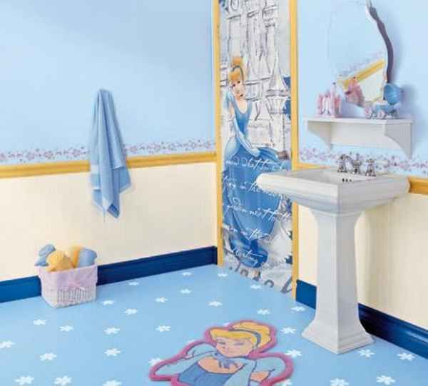 Cinderella Bathroom | Little girl bedroom and bathroom ideas ...