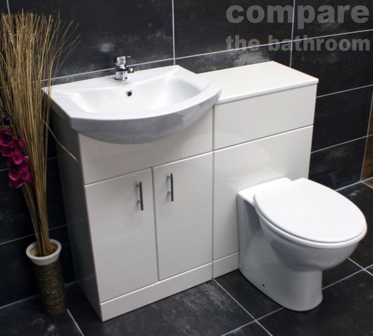 1000 ideas about toilet and sink unit on pinterest - Combination bathroom vanity units ...