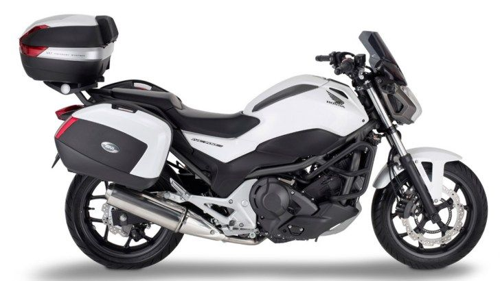 Honda NC700S Receives Givi Touring Accessories