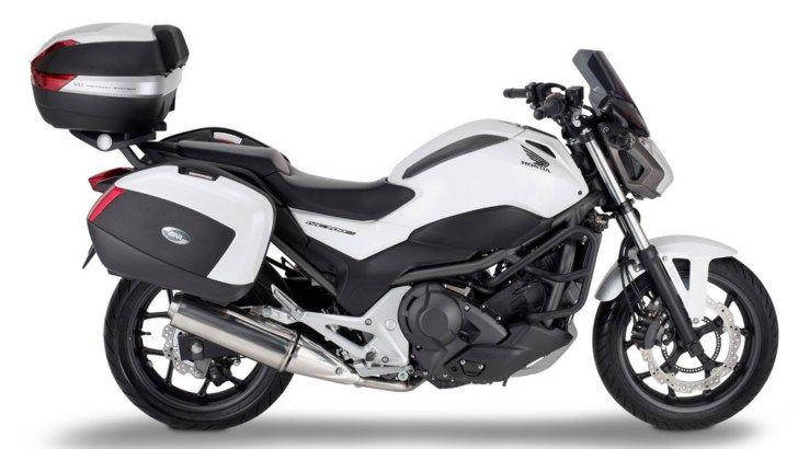 Honda NC700S Receives Givi Touring Accessories