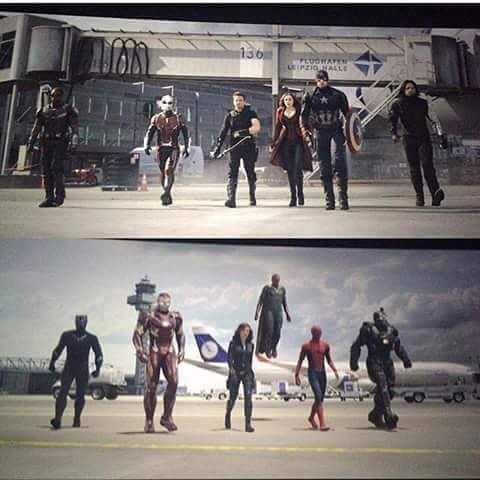 I only have one problem- why is Natasha with iron man when clearly she belongs with Captain America?????!!!