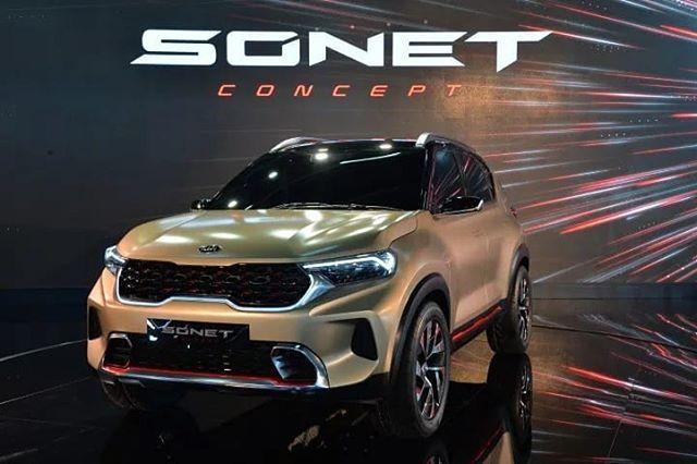 Kiamotorsworldwide Reveals Sonet Concept Suv At Auto Expo India See More At Thekcb Com F O L L O W Thekoreancarblog Thekcb Kia Hyun In 2020 Kia Suv Kia Motors