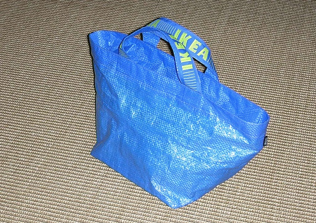 my ikea re-bag #accorgitene #ikea #recycling #bag