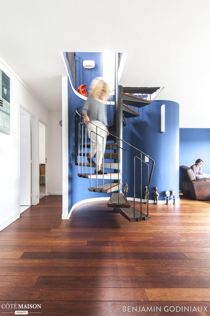 les 247 meilleures images propos de escaliers sur pinterest atelier contremarches et escaliers. Black Bedroom Furniture Sets. Home Design Ideas