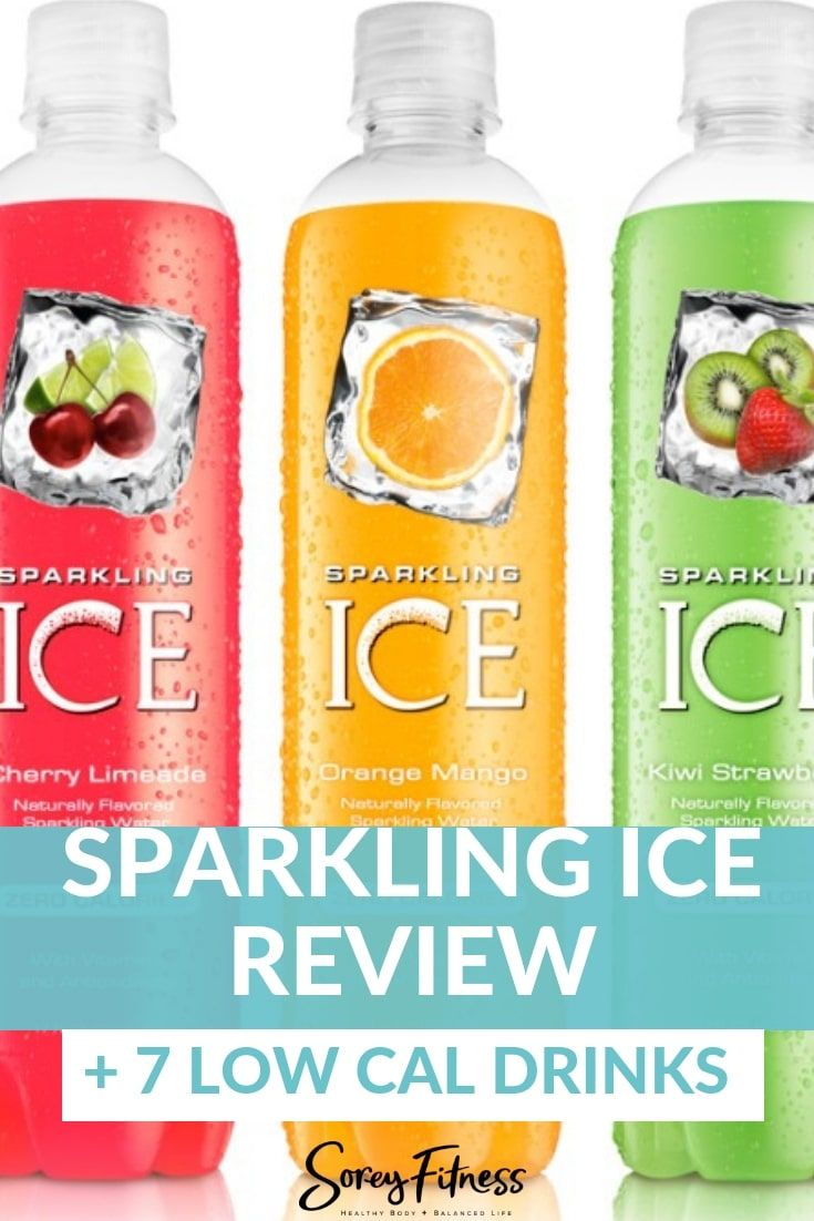 Sparkling Ice is a sparkling water at 0