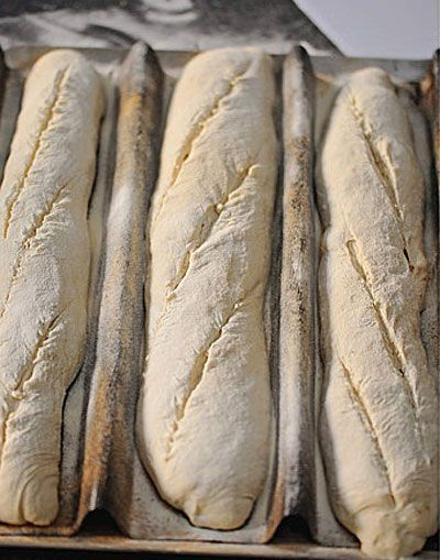 How to make Baguettes Bread  in oven - How to make home Baguettes Bread - Easy Baguette Bread Recipe