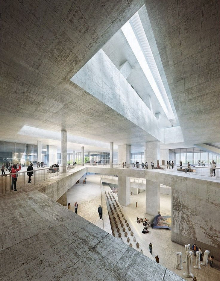 72 Awesome Museum Architecture Designs https://www.futuristarchitecture.com/14956-museum-architecture.html