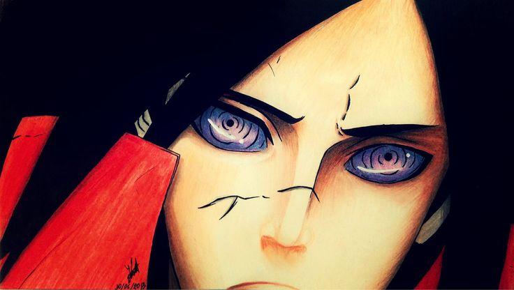 Uchiha Madara by artmaker77.deviantart.com on @DeviantArt