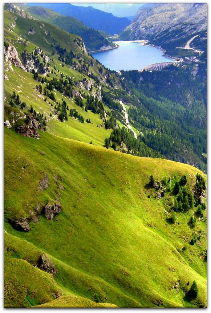 Arabba ~ Italian Ski Resort area in the region of Veneto, Italy