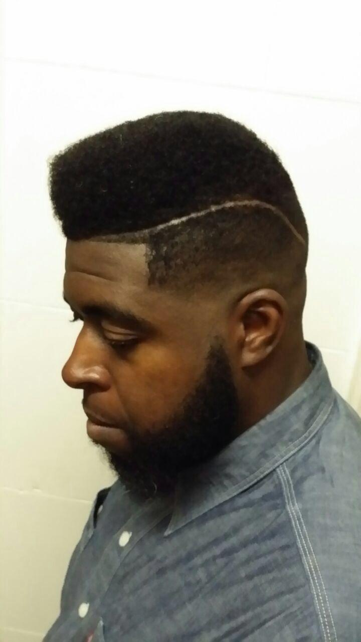 Black Mens Haircut Hairstyles Undercut Pompadour