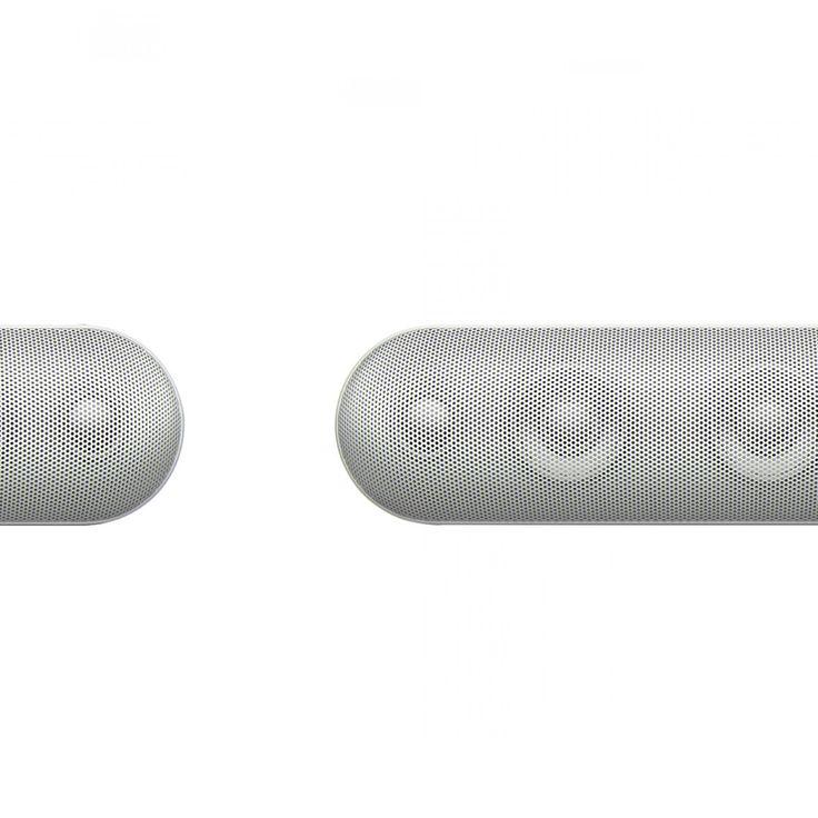 Bocina portátil Apple Beats Pill te permite llevar tu música adonde vayas. Produce un sonido potente con altos espectaculares y graves profundos. Puedes conectarlo a cualquier dispositivo con Bluetooth y moverte al ritmo de la música. Entre sus funciones