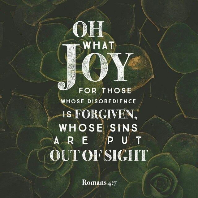 Romans 4:7                                                                                                                                                                                 More