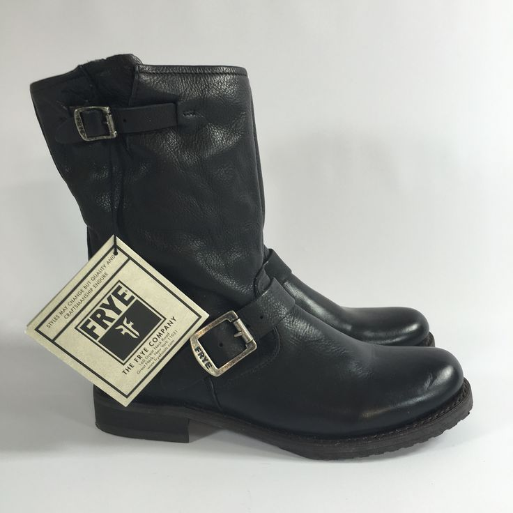 Frye Veronica Short Ankle Boot Black Size 8.5