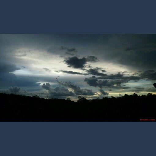 Senja itu...⛅