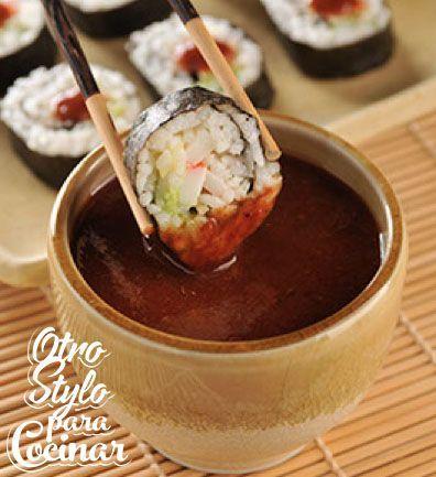 Esta salsa es ideal para acompañar el sushi. Porciones: ½ litro Tiempo de preparación: 20 min Dificultad: Fácil. Ingredientes: ½ taza de concentrado de tamarindo ¼ taza de salsa de soya 2 chiles ch…