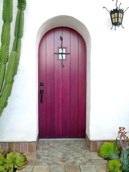 Entry to the Cota Street Studios, Santa Barbara, CA