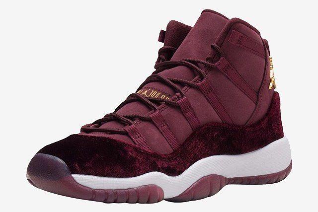 "SHOP: Nike Air Jordan 11 Retro GG ""Red Velvet""  sizes up to 9.5Y / women's 11  Preorder  kickbackzny.com"