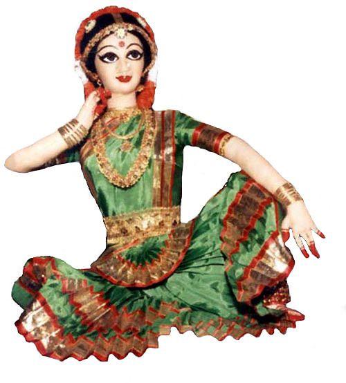Dance Dolls Of India Bharathanatyam Dance Of Indian