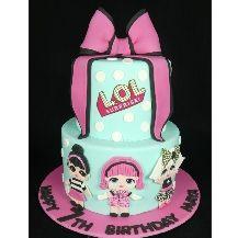 LOL Birthday Cake, #LOLcake, 7 year old birthday cake, LOL cake, LOL ...