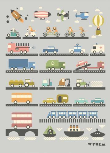» Køretøjer » For børn & unge » Plakat