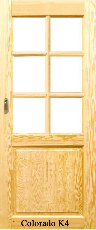 Colorado K4 surowe drzwi przesuwne