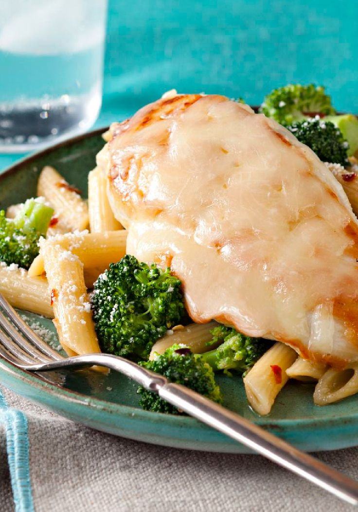 Tuscan Italian Chicken with Penne & Broccoli – Ask not what's on the menu for dinner, but where: Italy! It will seem that way when you're sitting down to this Tuscan chicken with penne and broccoli.