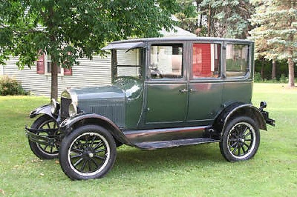 1927 ford model t 4 door sedan it 39 s a ford pinterest