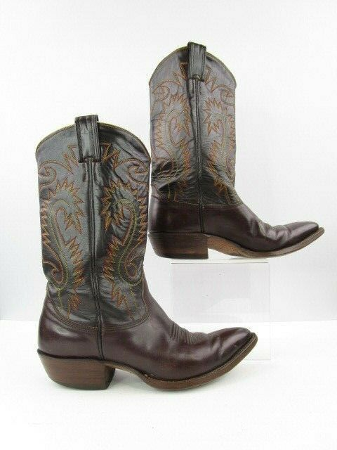 4a0fbe6abde eBay Sponsored) Men's Brown Nocona Pointed Toe Western Cowboy Boots ...