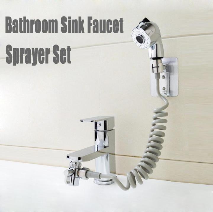 Bathroom Sink Faucet Sprayer Set Ioiuk In 2020 Bathroom Sink